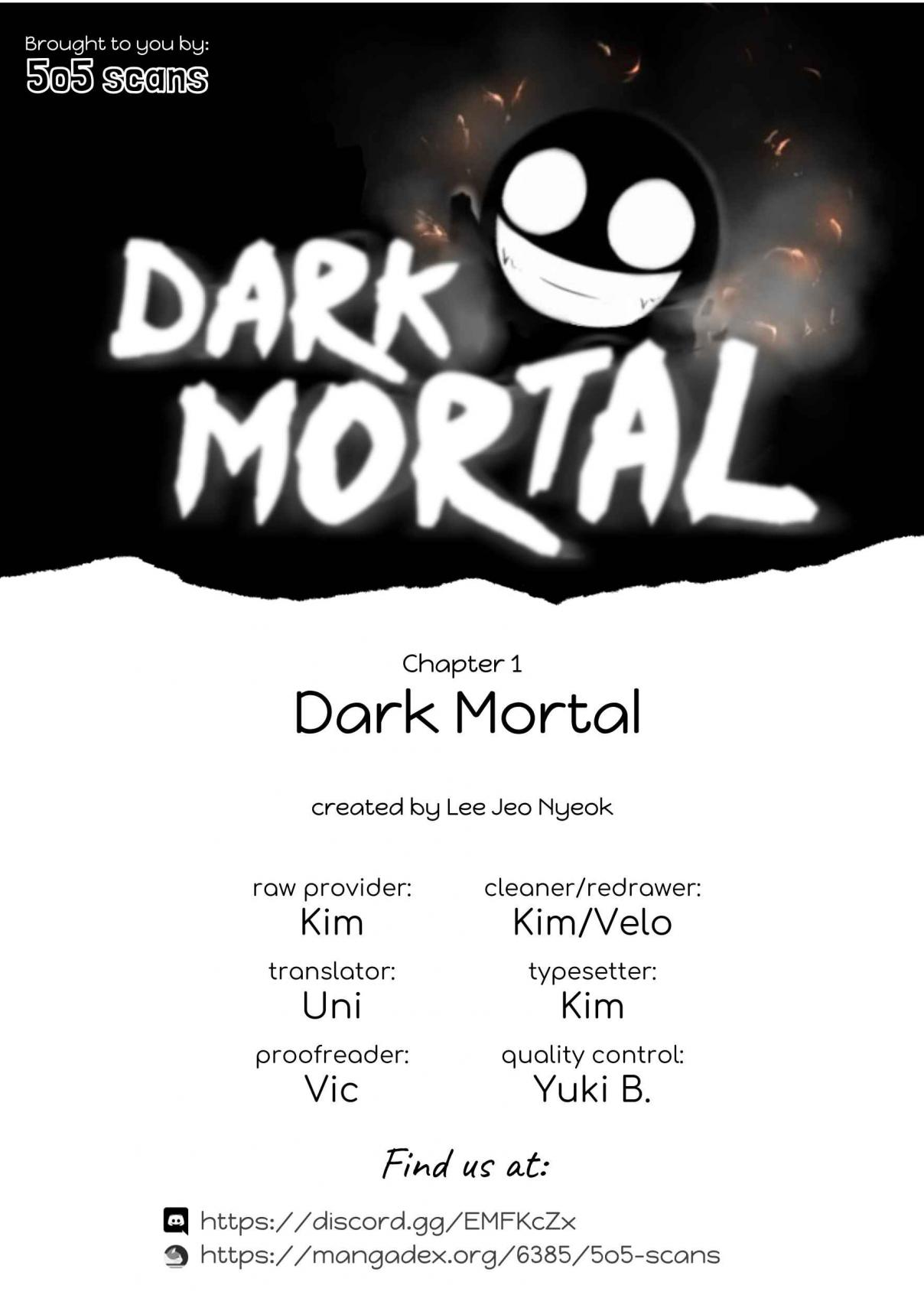 Dark Mortal Ch. 1 Family