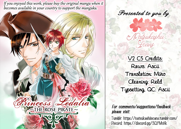Princess Ledalia ~The Pirate Of The Rose~ Vol. 2 Ch. 5 Chapter 5