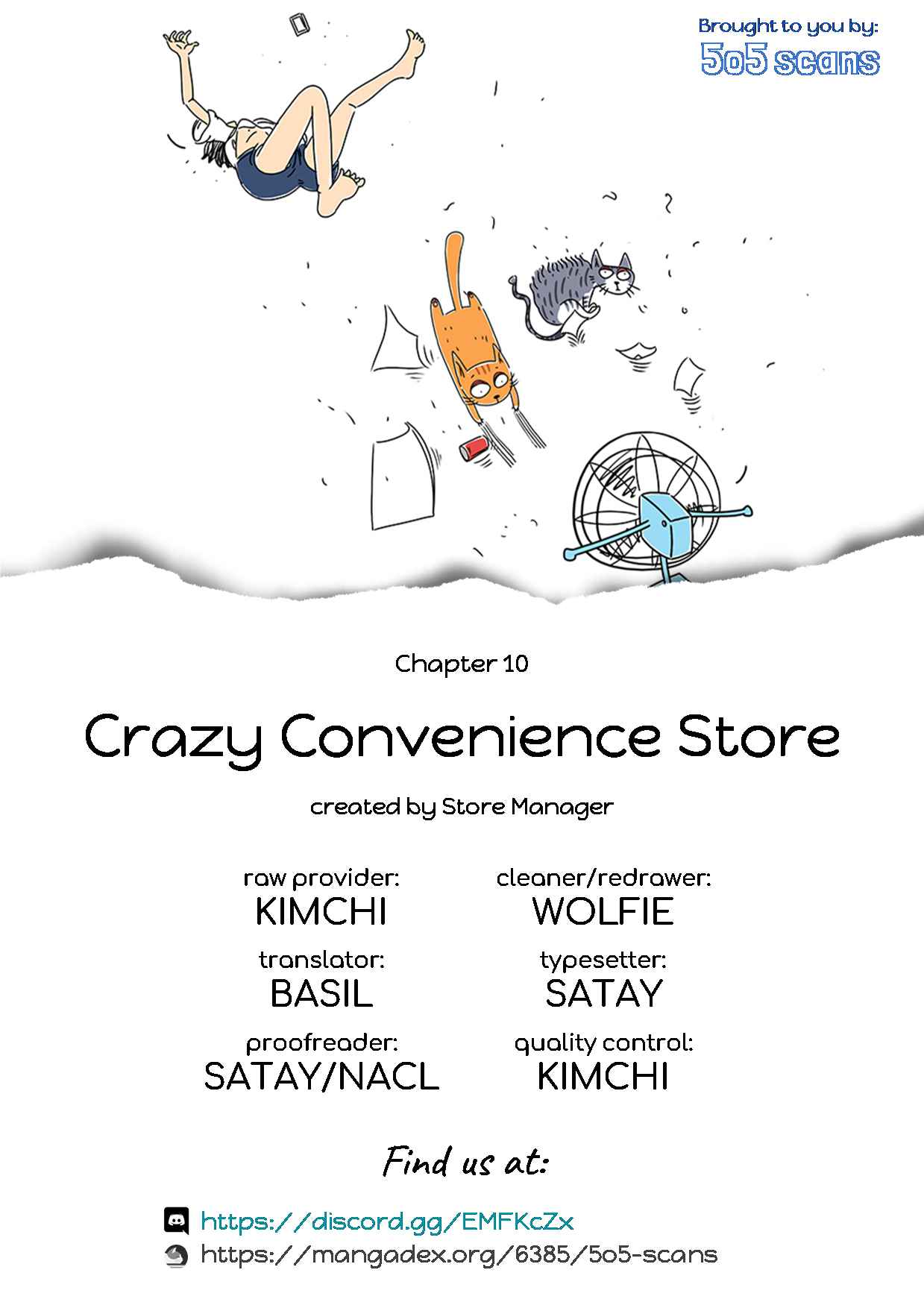 Crazy Convenience Store Ch. 10 Can't everything be done quickly?!