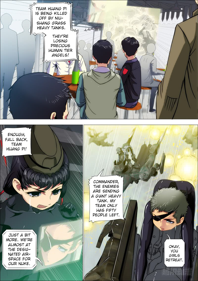 Iron Ladies Ch. 175 One High Explosives Arrow…