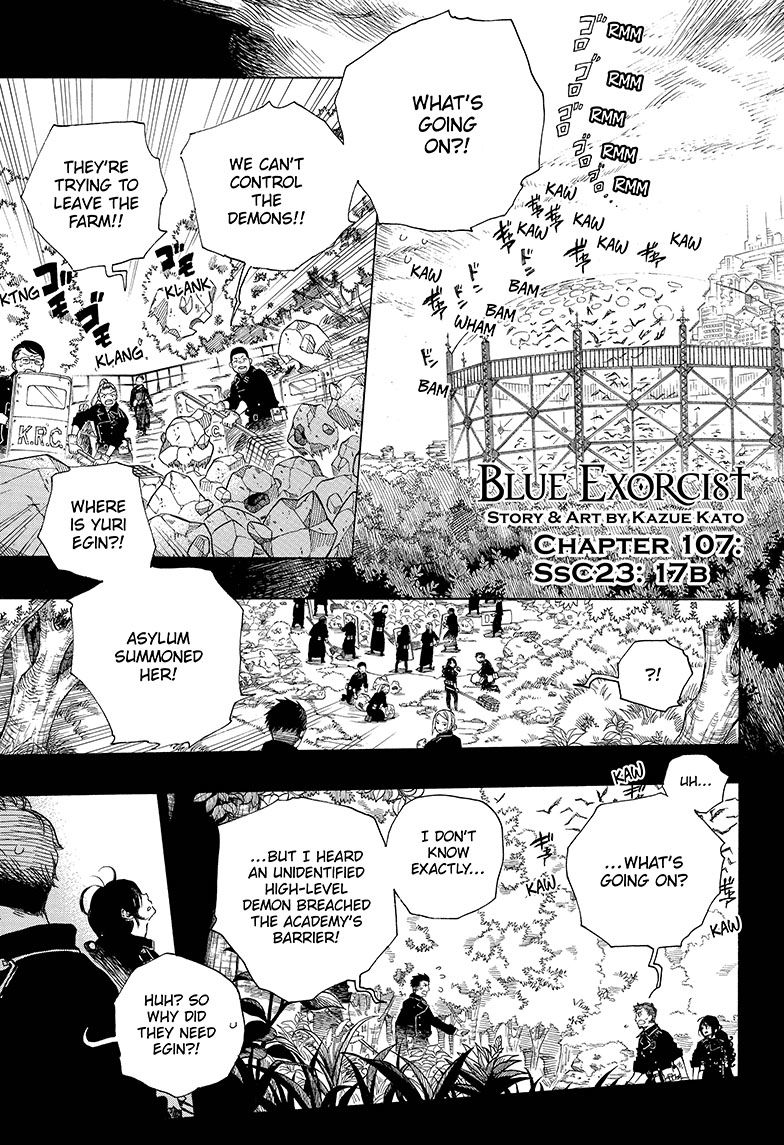 Ao no Exorcist 107