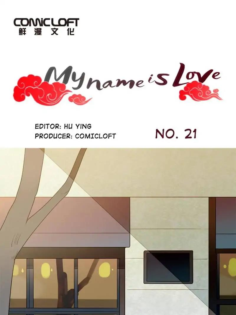 My Name is Love Chapter 21