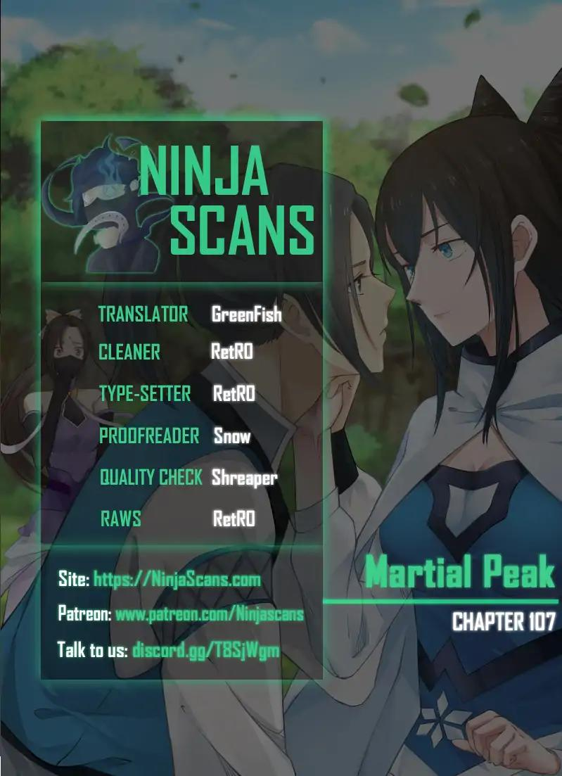Martial Peak Chapter 107