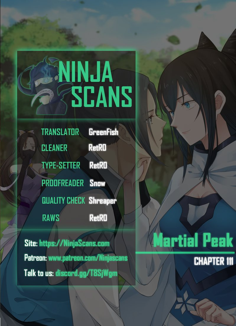 Martial Peak Chapter 111