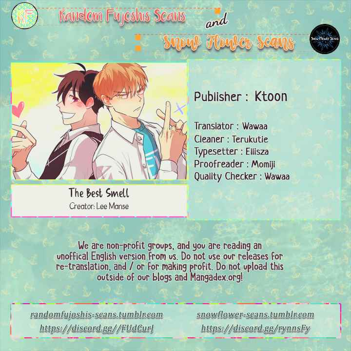 The Best Smell Ch. 62 Someone who Shares the Same Goal (2)
