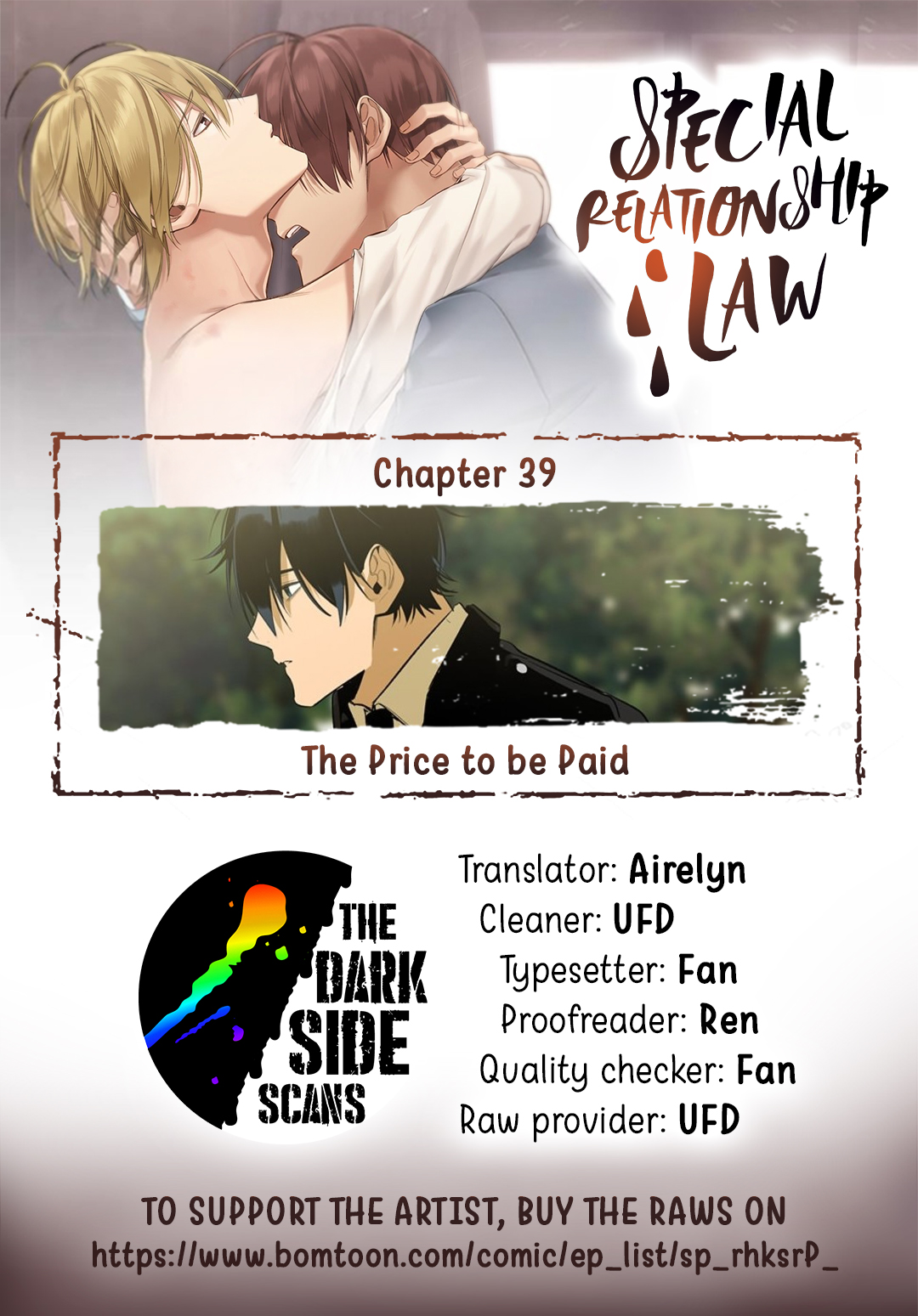 Special Relationship Law Ch. 39 The Price to be Paid