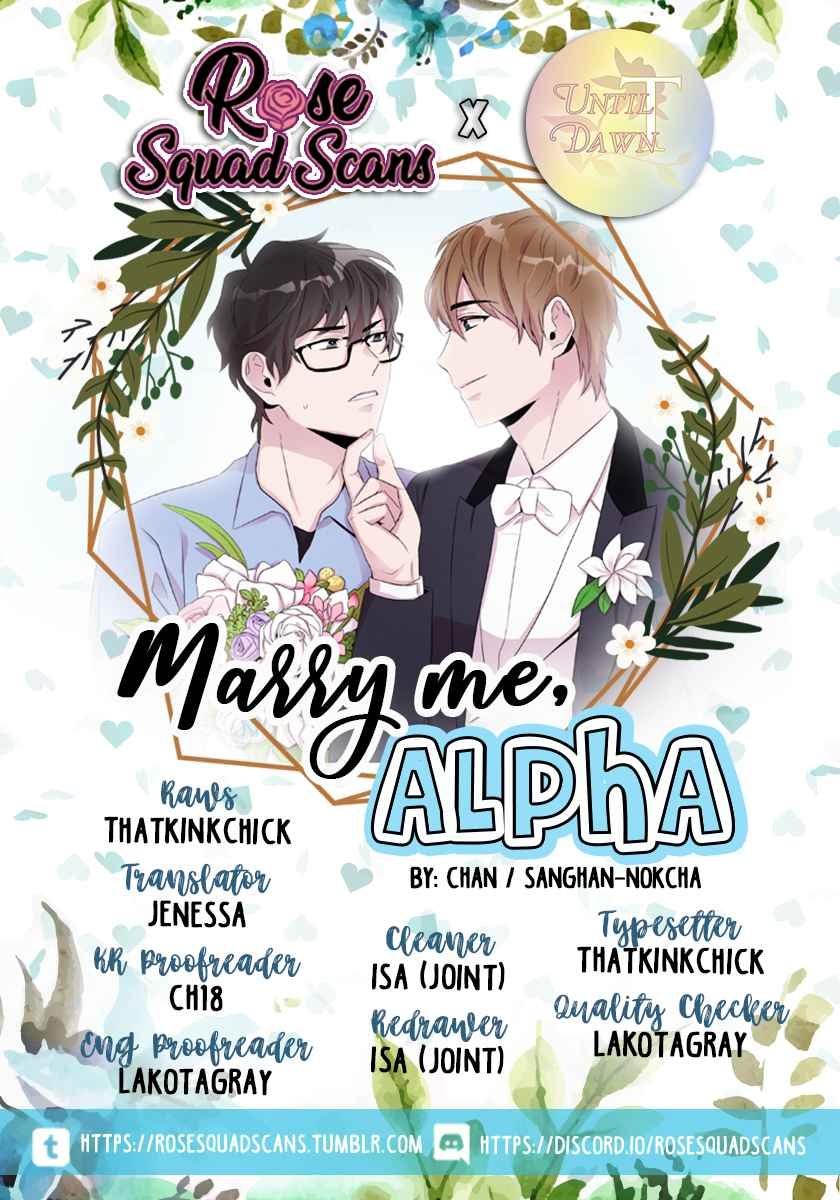 Marry Me, Alpha Ch. 3