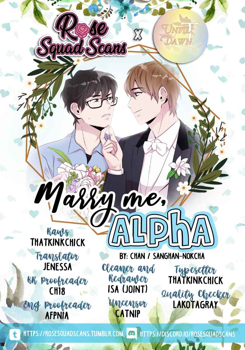Marry Me, Alpha Ch. 8