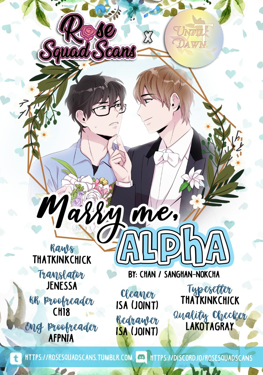 Marry Me, Alpha ch.12
