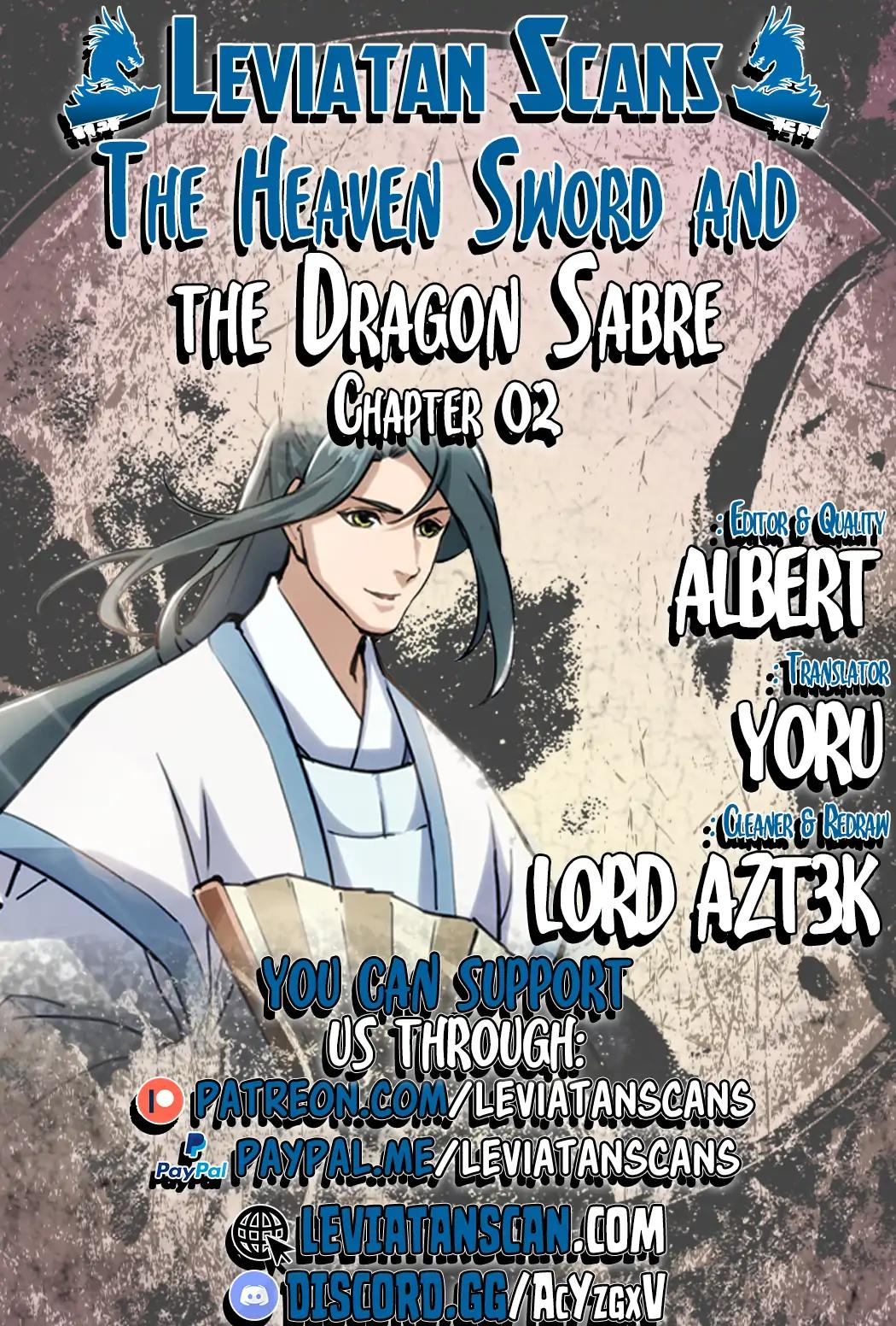 The Heaven Sword and the Dragon Saber Vol.1 Chapter 2