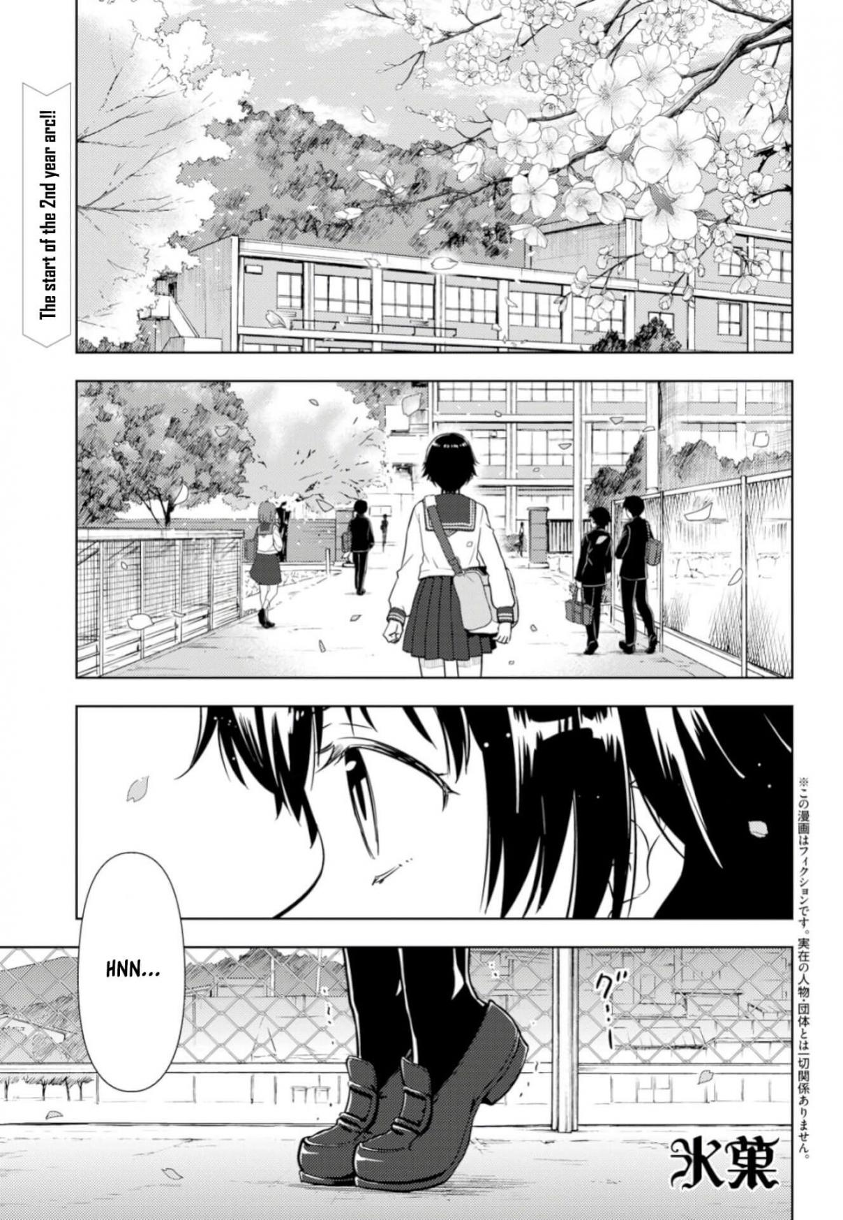 Hyouka Ch. 76 Club Applications Right Over Here! ①