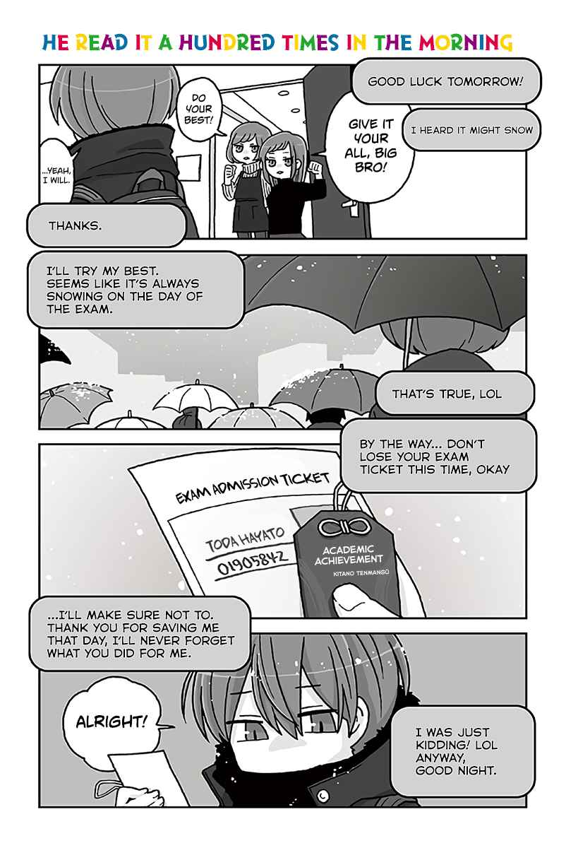 Mousou Telepathy Vol. 7 Ch. 698 He Read it a Hundred Times in the Morning