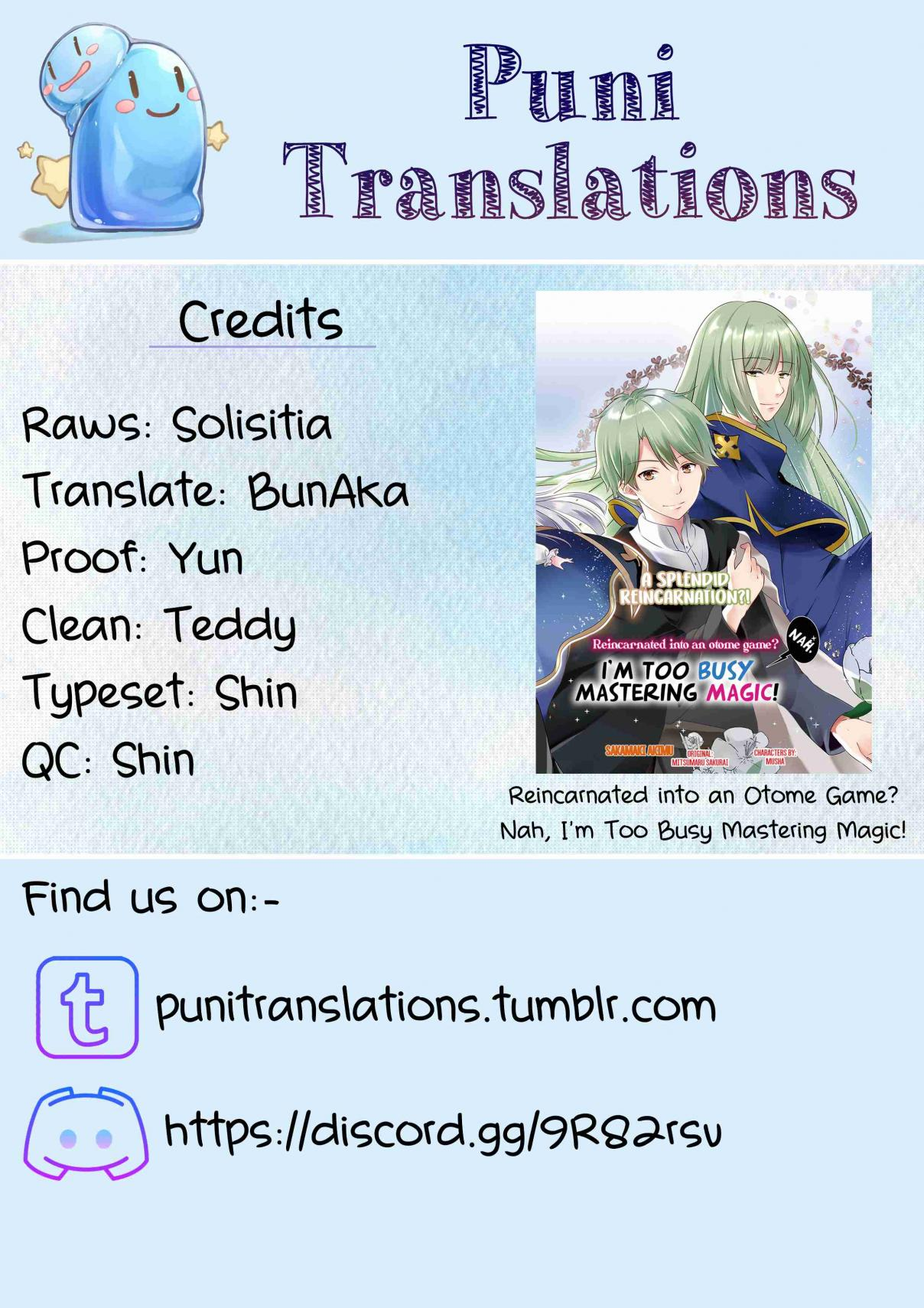 Reincarnated into an Otome Game? Nah, I'm Too Busy Mastering Magic! Ch. 1.1