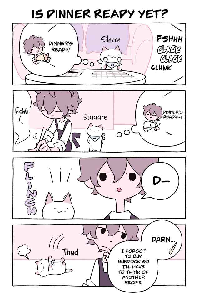 Wonder Cat Kyuu chan Vol. 6 Ch. 576 Is Dinner Ready Yet?