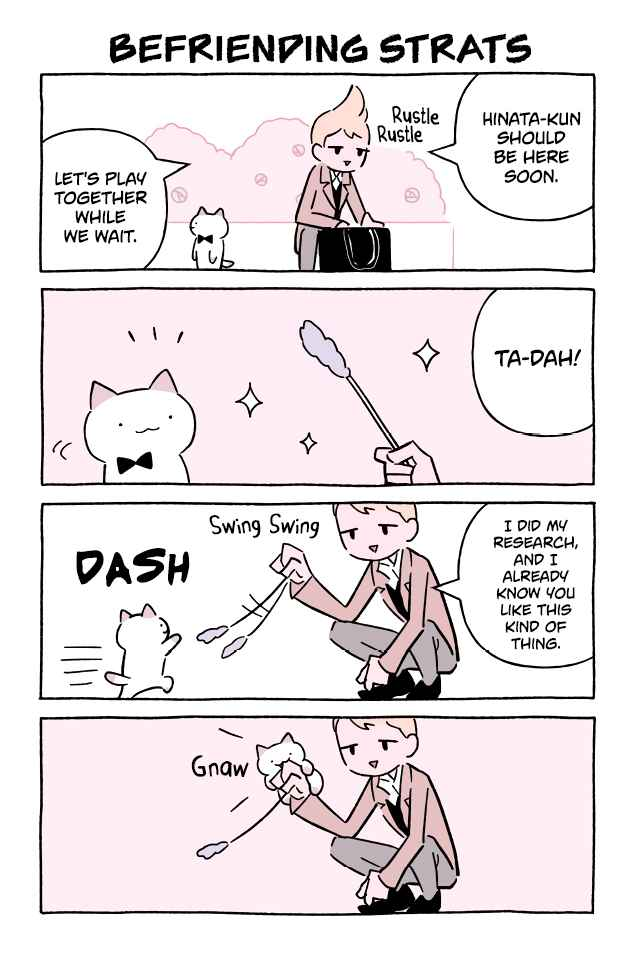 Wonder Cat Kyuu chan Vol. 6 Ch. 589 Befriending Strats