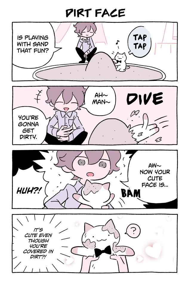 FUSHIGI NEKO NO KYUU-CHAN Wonder Cat Kyuu chan Vol. 6 Ch. 615 Dirt Face