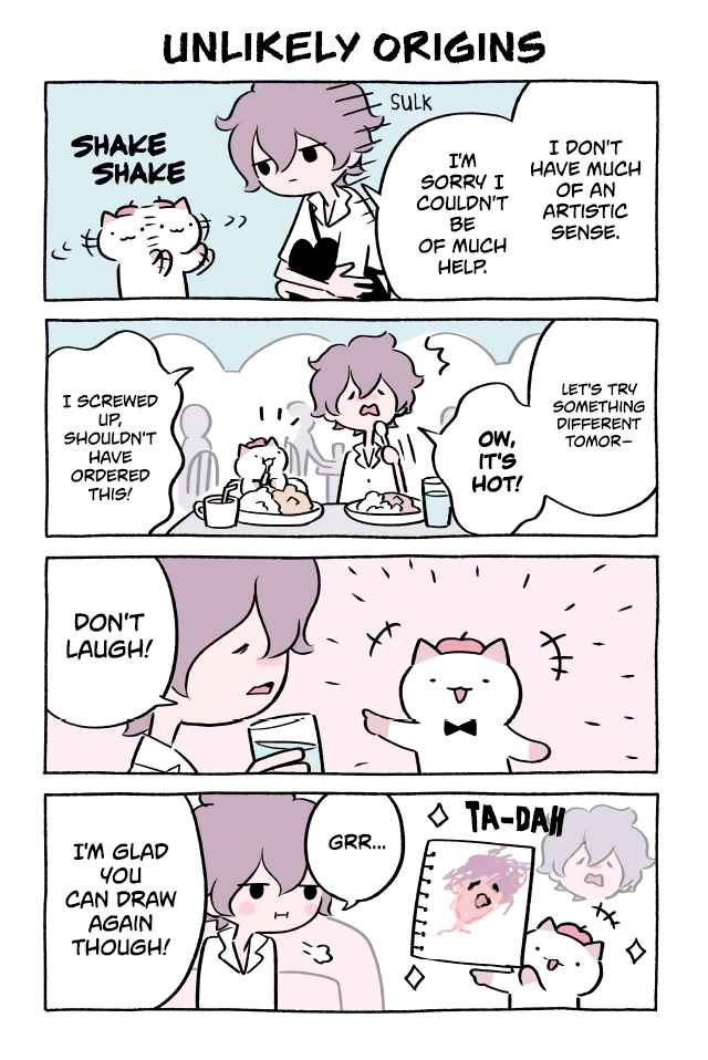 Wonder Cat Kyuu chan Vol. 4 Ch. 362 Unlikely Origins