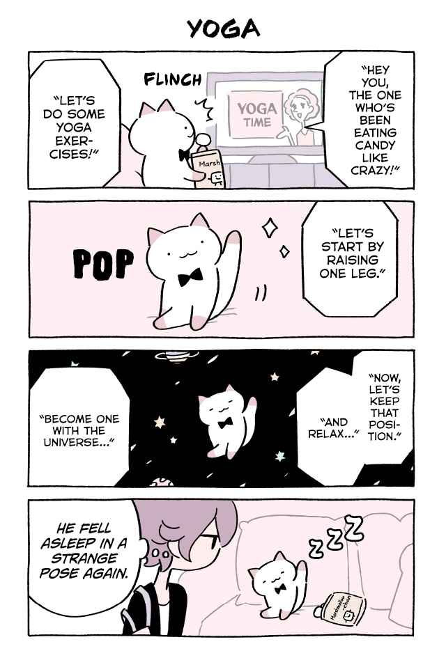 Wonder Cat Kyuu chan Vol. 4 Ch. 389 Yoga