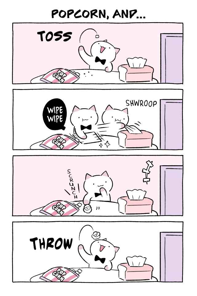 Wonder Cat Kyuu chan Vol. 5 Ch. 532 Popcorn, And...