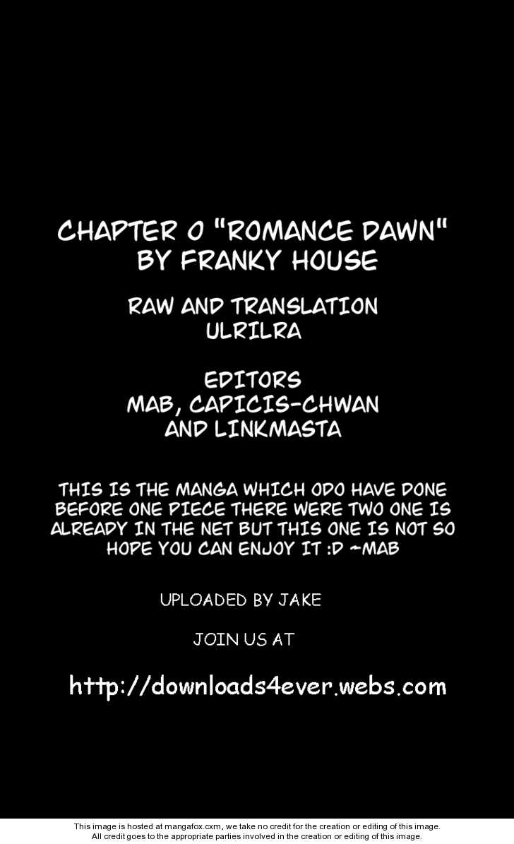 One Piece Chapter 1.1