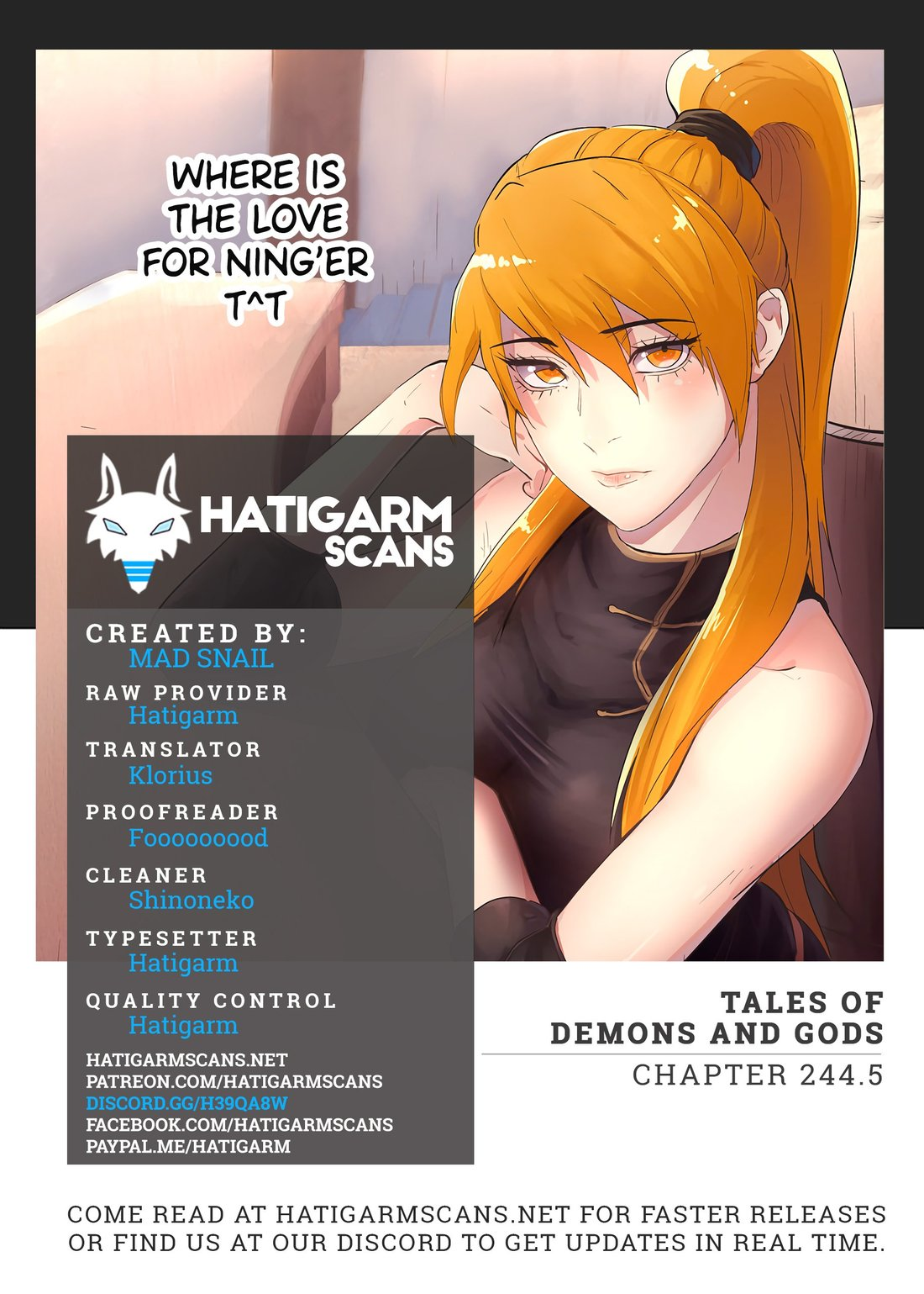 Tales of Demons and Gods 244.5