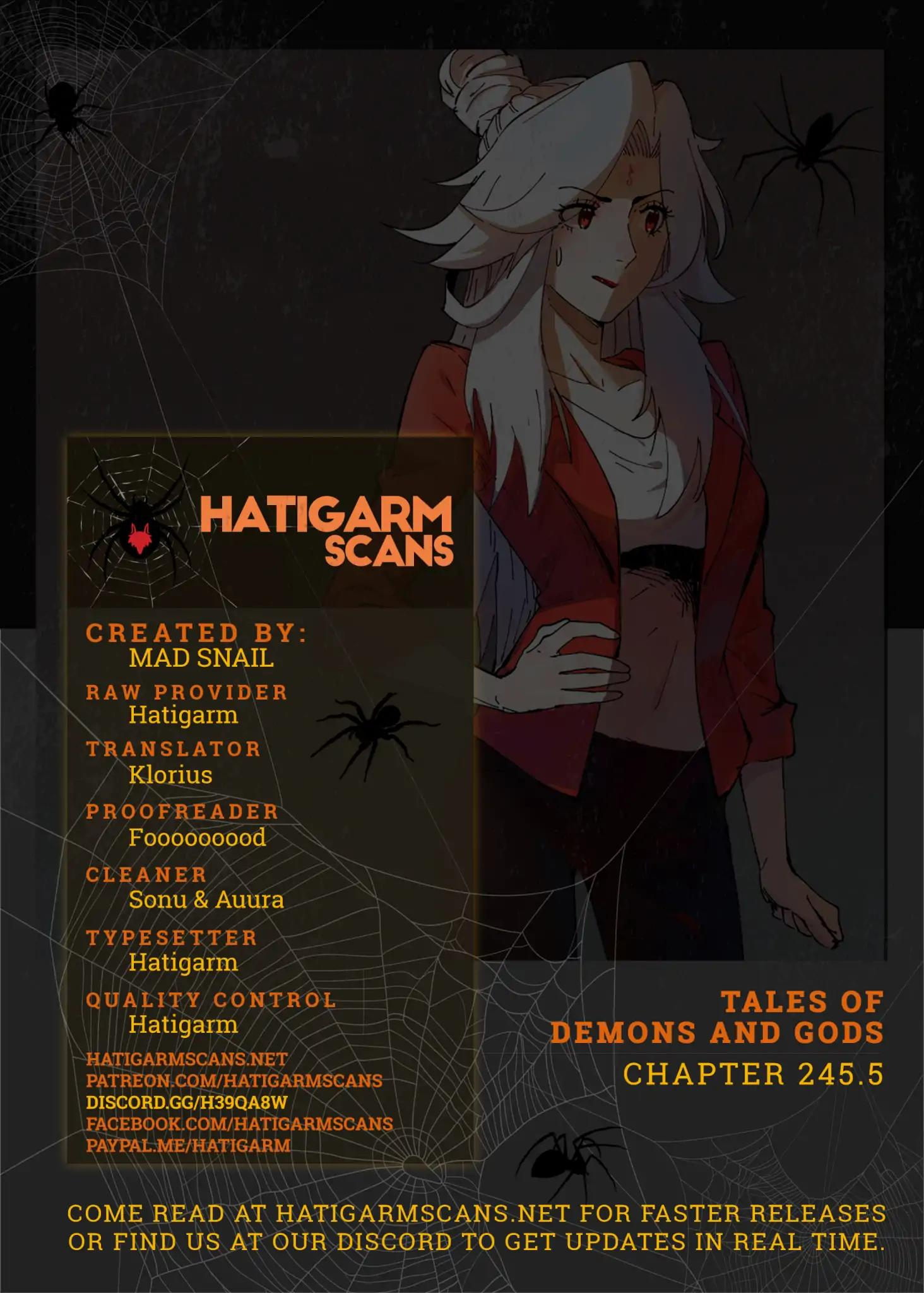 Tales of Demons and Gods Chapter 245.5