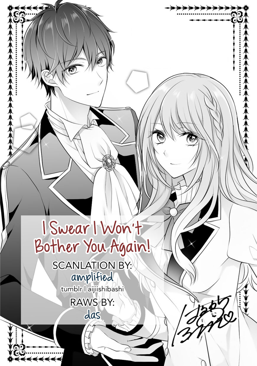 I Swear I Won't Bother You Again! ch.006