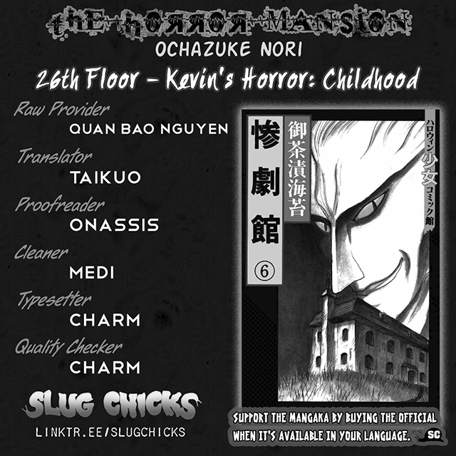 Zangekikan Vol. 6 Ch. 26 Kevin's Horror (Childhood)