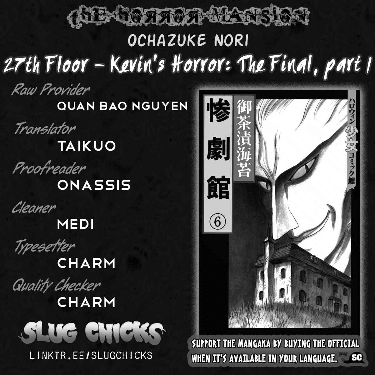 Zangekikan Vol. 6 Ch. 27 Kevin's Horror, The Final Part (Part 1)