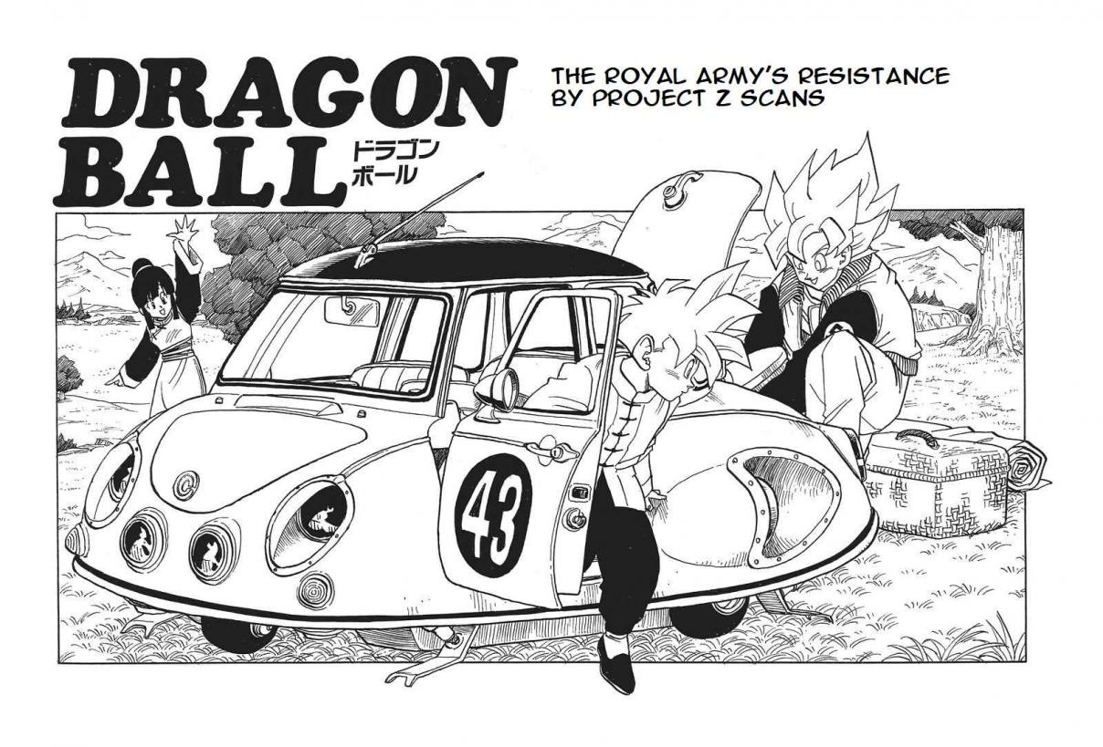 Dragon Ball Vol. 33 Ch. 392 The Royal Army's Resistance