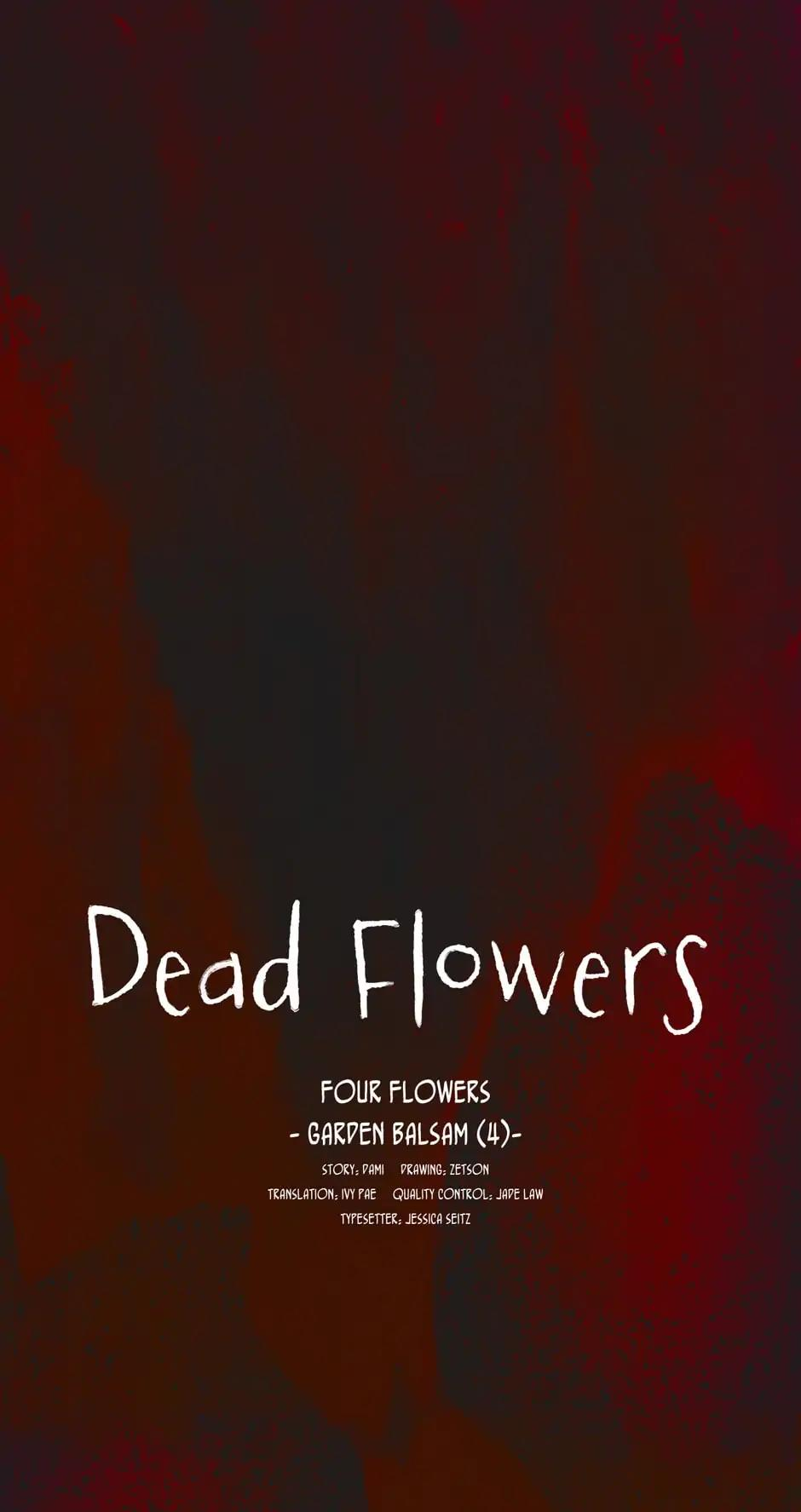 Dead Flowers (Dami & Zetson) Chapter 4: