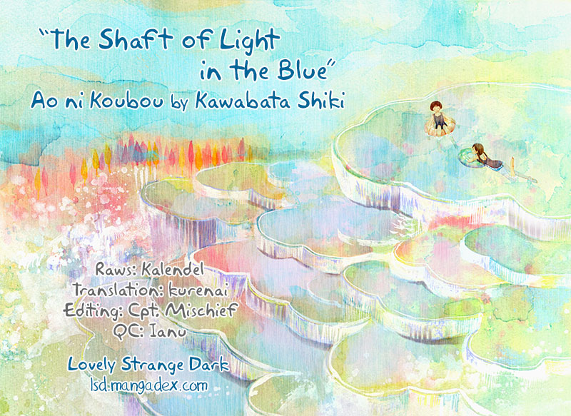 The Shaft of Light in the Blue Vol. 1 Ch. 3 Specimens of 17 Year Olds