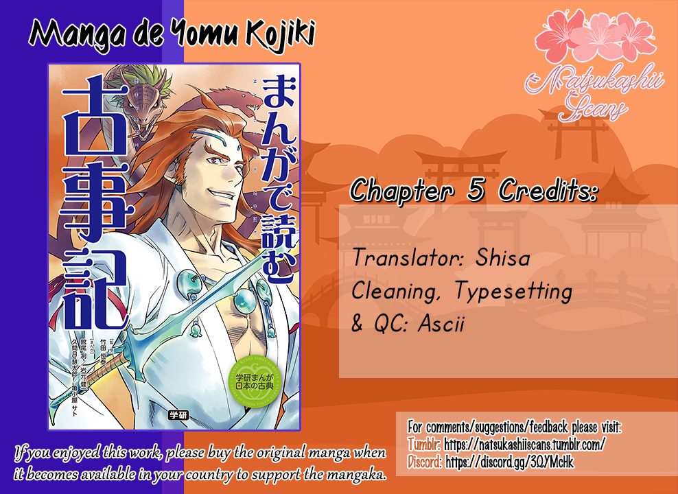 Manga de Yomu Kojiki Vol. 1 Ch. 6 Handing over the Country Tenson Korin