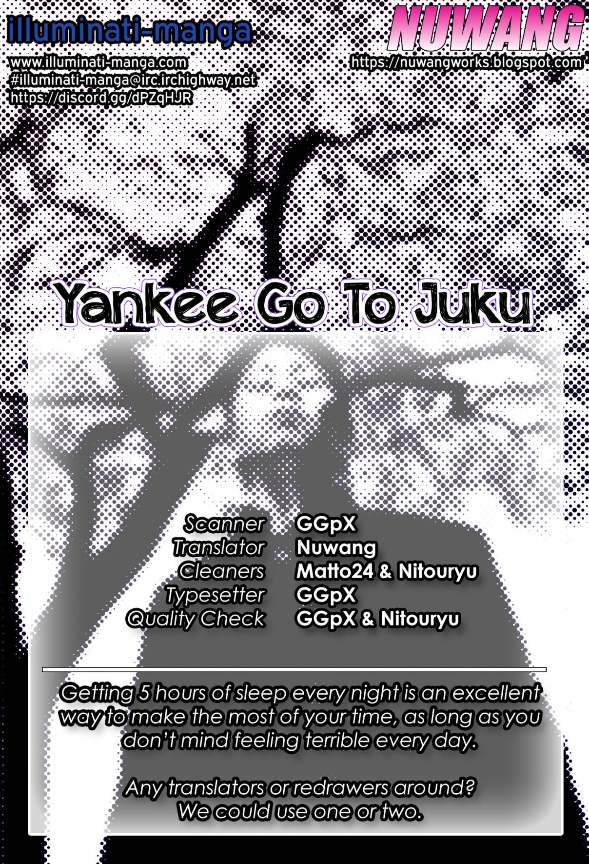Yankee Juku e Iku Vol. 1 Ch. 4 You're The Strongest, Murota senpai