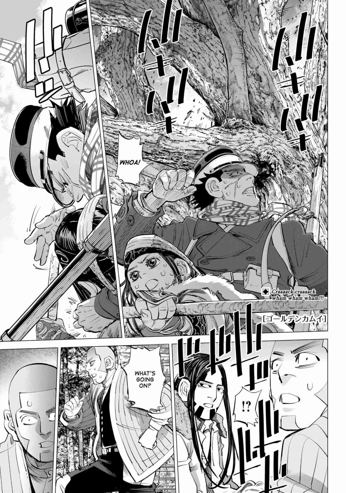 Golden Kamuy Ch. 242 Each in Turn