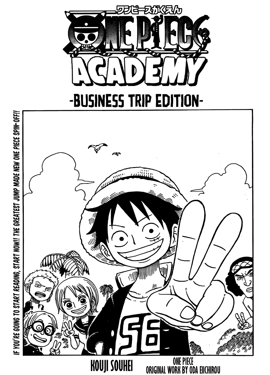 One Piece Academy: Business Trip Edition 956.99