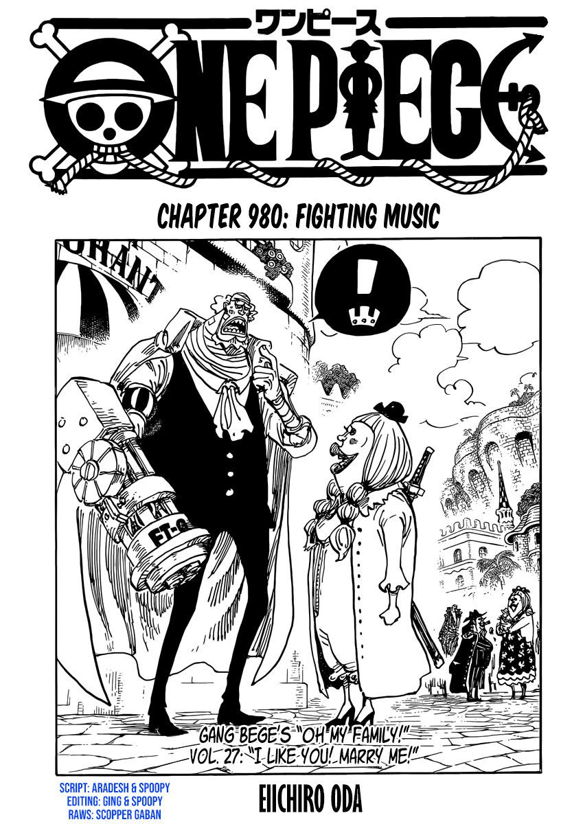 One Piece Chapter 980
