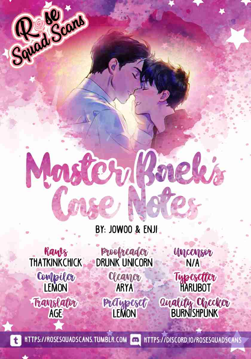 Master Baek's Case Notes Ch. 2