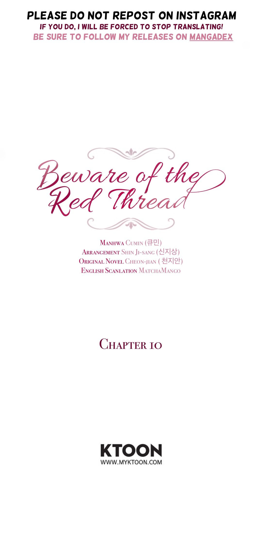 Beware of the Red Thread Ch. 10