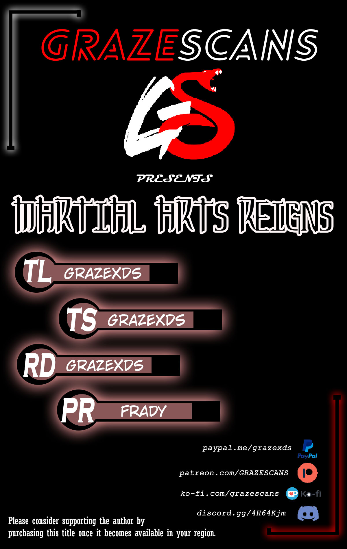Martial Arts Reigns Ch. 180