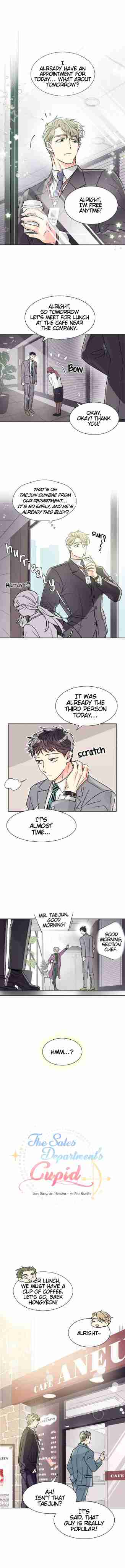 The Sales Department's Cupid Ch. 1