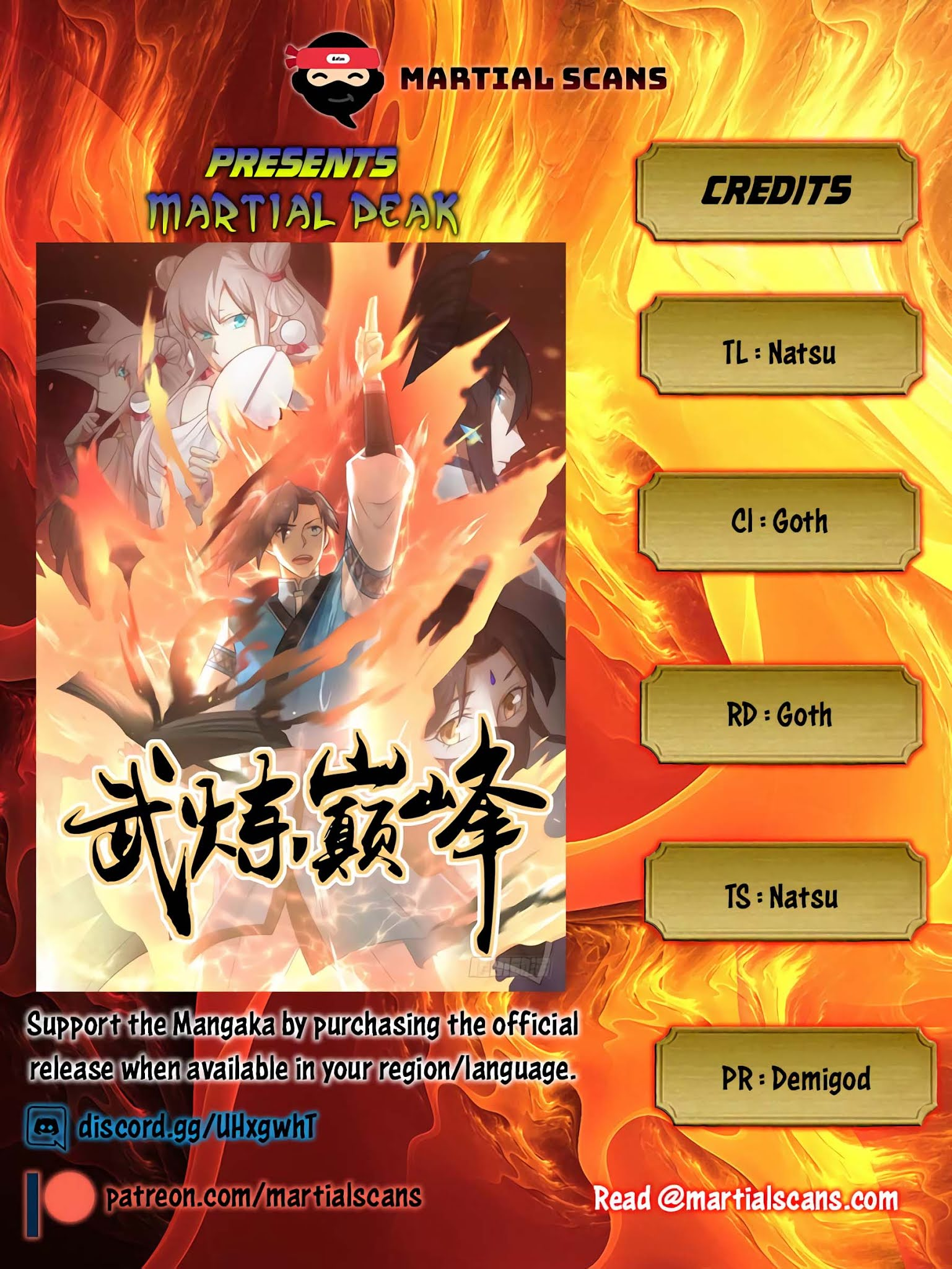 Martial Peak Chapter 635: Cultivating The Demon God Transformation