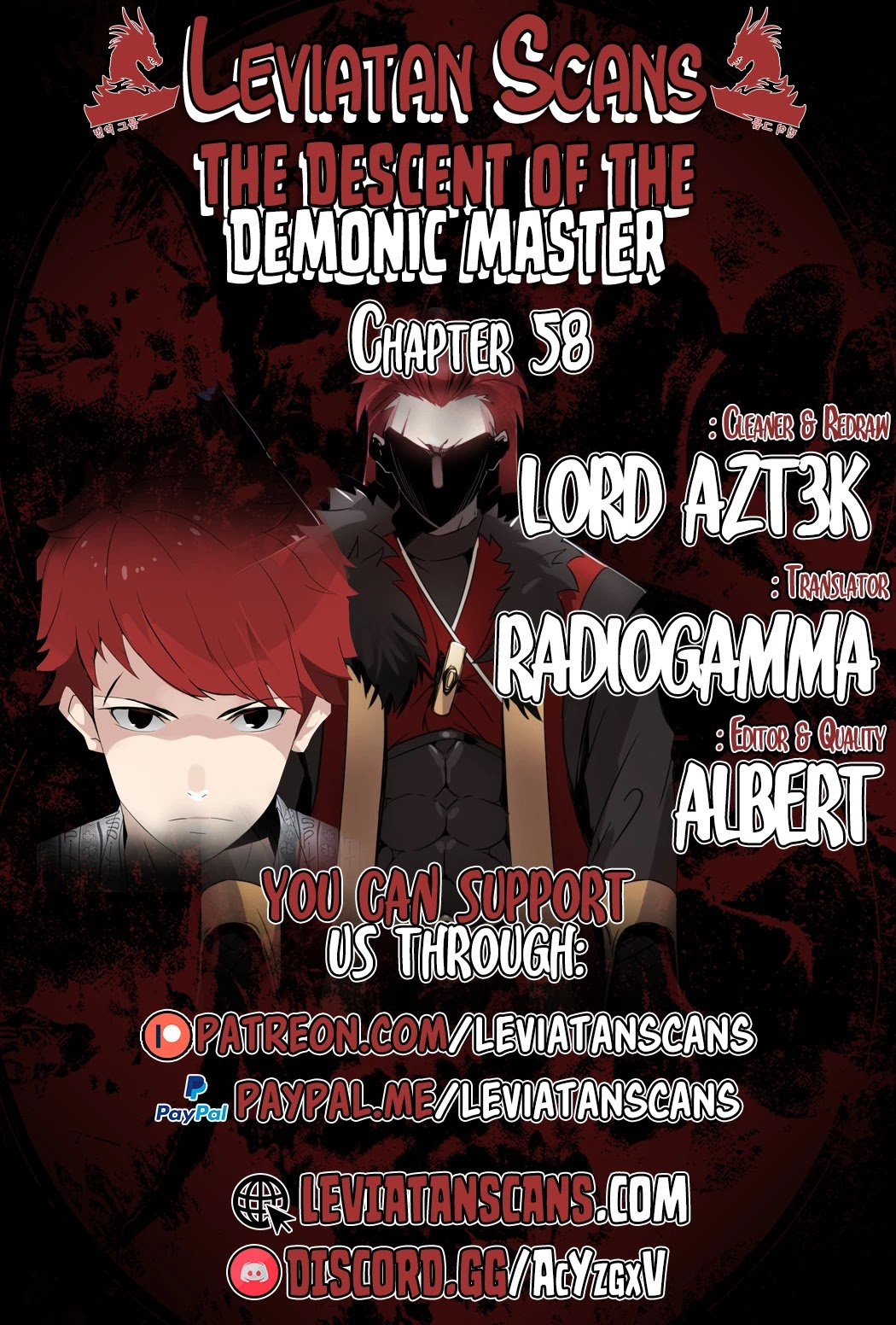 The Descent Of The Demonic Master Chapter 58