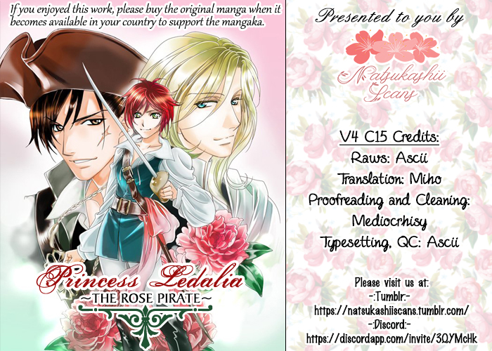 Princess Ledalia ~The Rose Pirate~ Vol. 4 Ch. 15 Chapter 15