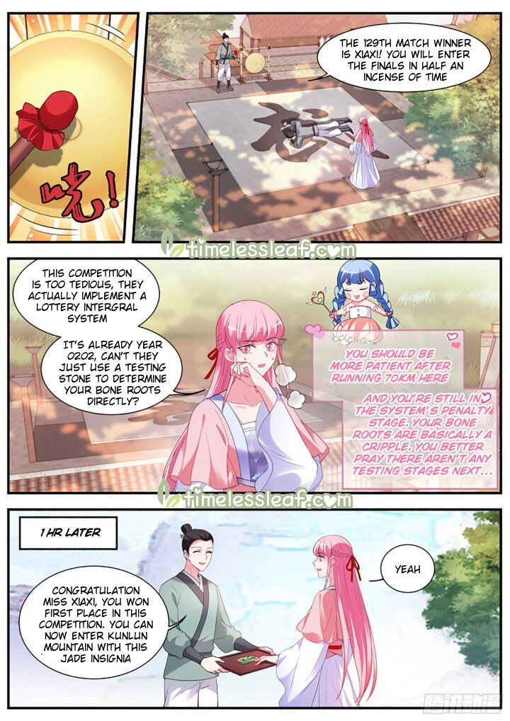 Goddess Creation System ch.332