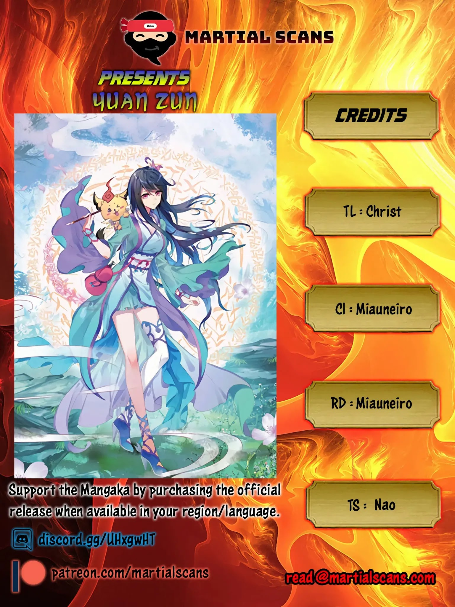 Yuan Zun Chapter 85.5: Saint Remains City