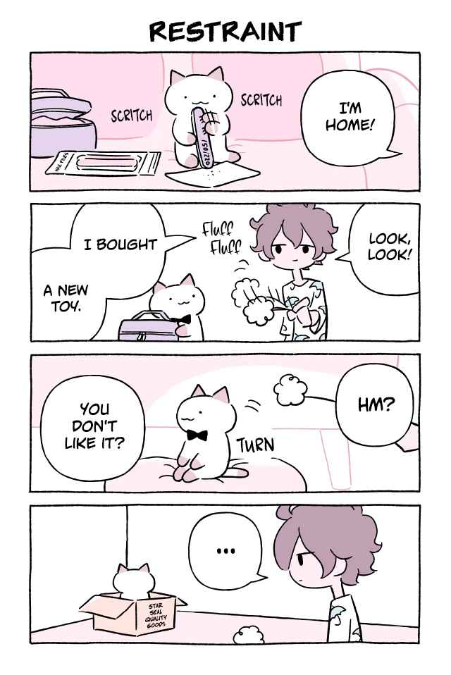 Wonder Cat Kyuu chan Vol. 7 Ch. 658 Restraint