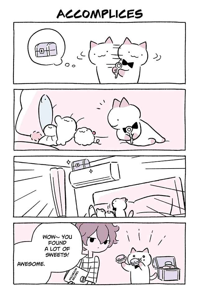Wonder Cat Kyuu chan Vol. 7 Ch. 673 Accomplices