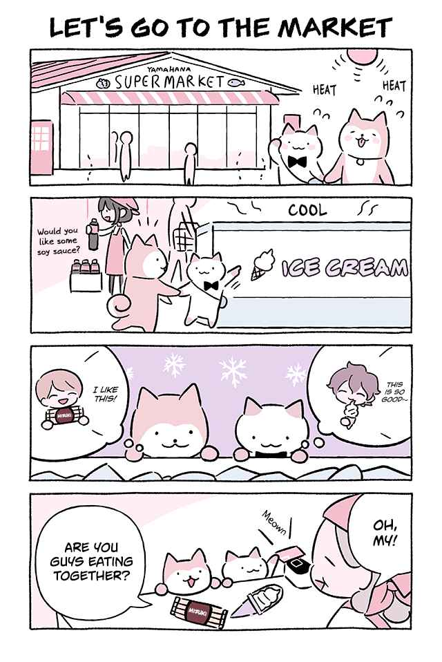 Wonder Cat Kyuu chan Vol. 7 Ch. 704 Let's Go to the Market