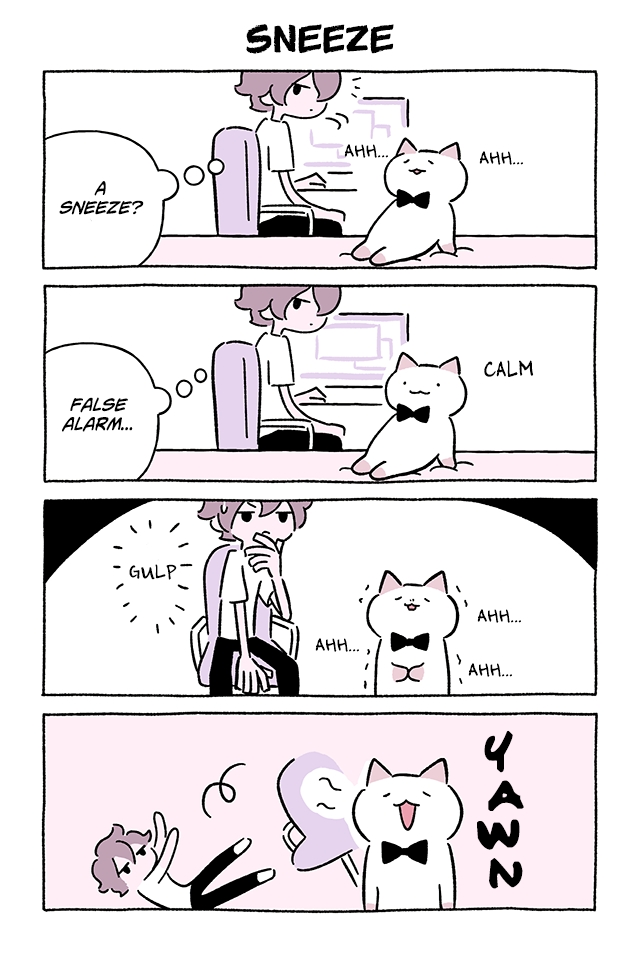 Wonder Cat Kyuu chan Vol. 7 Ch. 712 Sneeze